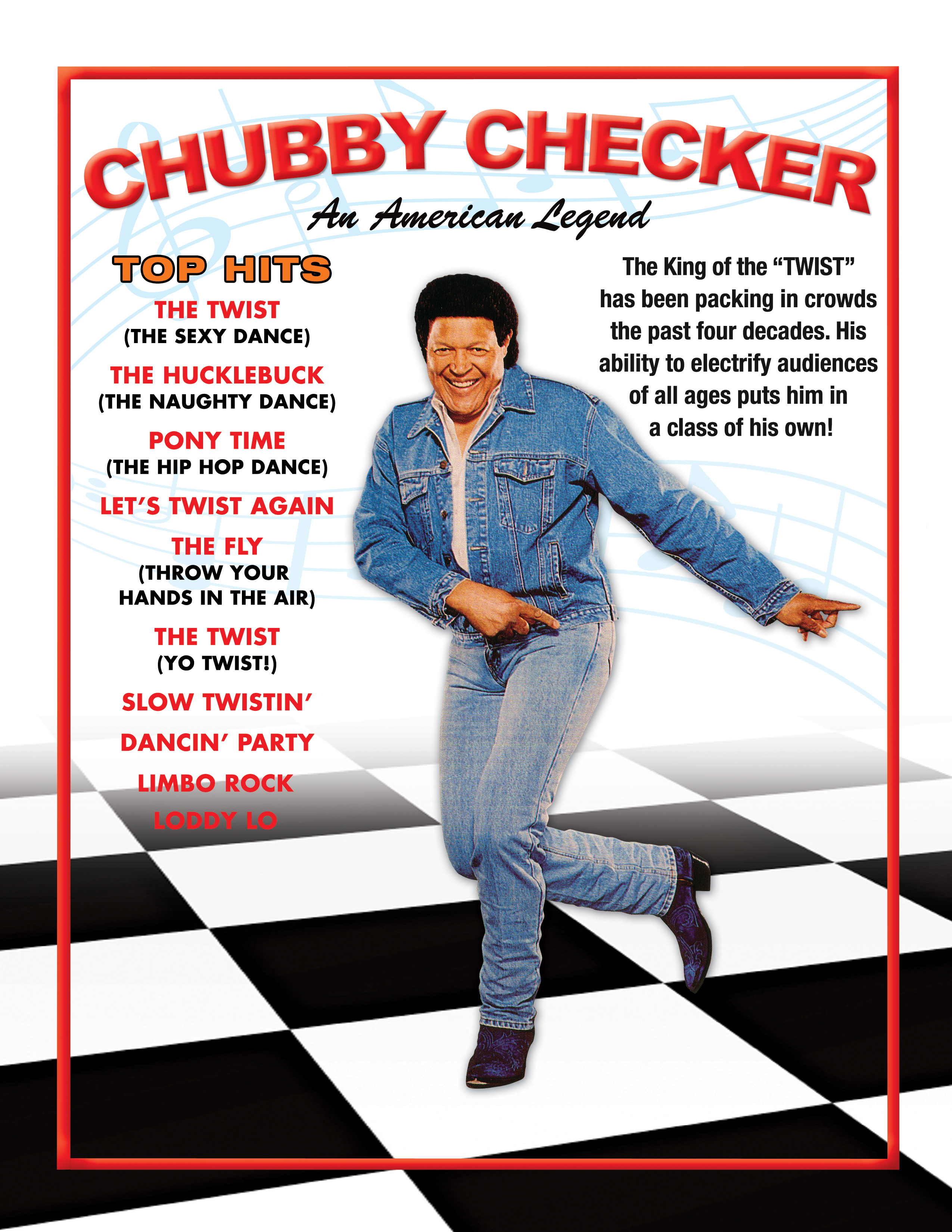 Chubby checker the huckle buck #2